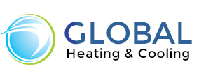 Global Heating Cooling Logo