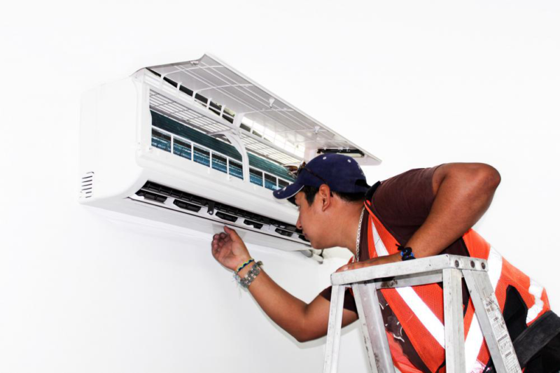 Ductless Mini Split Cooling System